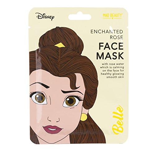 Disney Face - Disney Princess Beauty The Beast Belle Face Mask