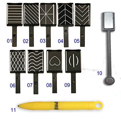 MOPRETTY DIY Cat Eye Magnet Stick Plate Pen UV Gel Polish Magic 3D Magnetic Nail Art Tool Nails - Cat Diy Eye