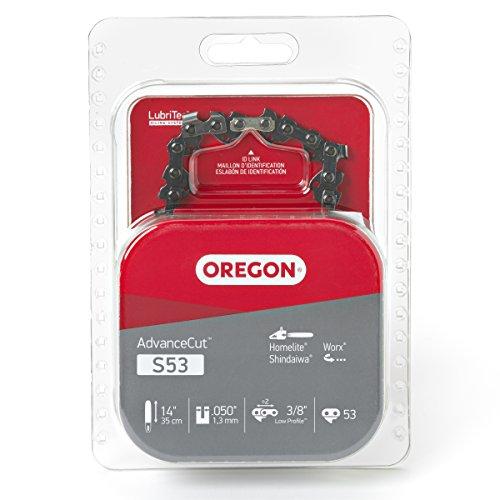 Oregon 14-Inch Semi Chisel Chain Saw Chain Fits Craftsman, Homelite ()