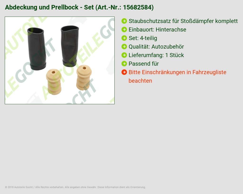 Staubschutz Satz Sto/ßd/ämpfer Hinten
