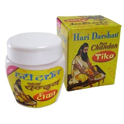 Hari Darshan 40 g di pura pasta di legno di sandalo / chandan per preghiere puja/tikka qKNupDQfNz