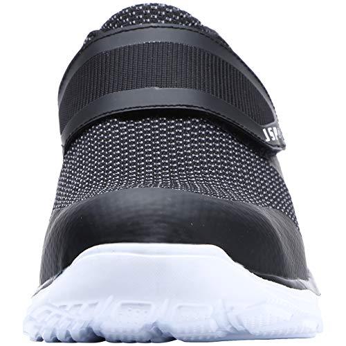 Pannensicher schwarz Dykhmily Leichte Weiß Stahlkappe Rutschfest Lm18 Sicherheitssneakers 33w Arbeitsschuhe Damen nwY7Pwqp