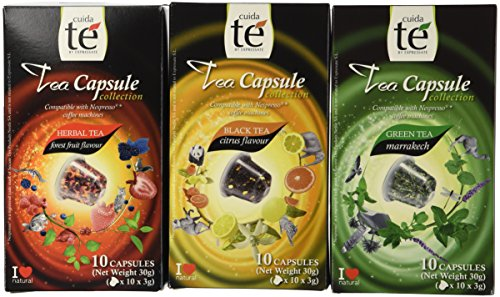 ble Pods - Origen Tea Variety Pack: Black Citrus Tea, Marrakech Green Tea, Forest Fruit Tea (1 box each / 10 pods per box) ()