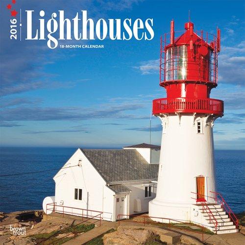 Lighthouses 2016 Square 12x12 Wall Calendar