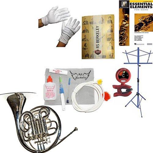RS Berkeley FR806 Artist Series Double Horn & Bonus RSB MEGA PACK w/Essential Elements Book by RS Berkeley