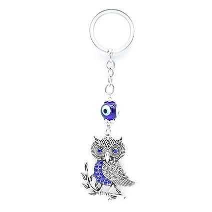 Muzuri Feng Shui Amulet Talisman Nazar - Llavero con ojo ...