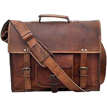 Ac Baigio Mens Vintage Genuine Leather