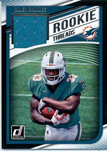 2018 Donruss Rookie Threads #30 Kalen Ballage MEM Dolphins Football NFL from Donruss