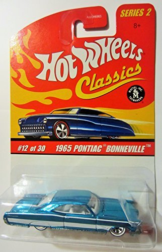 1965 Pontiac Bonneville (Blue) 2005 Hot Wheels Classics 1:64 Scale Series 2 Die Cast Vehicle ()
