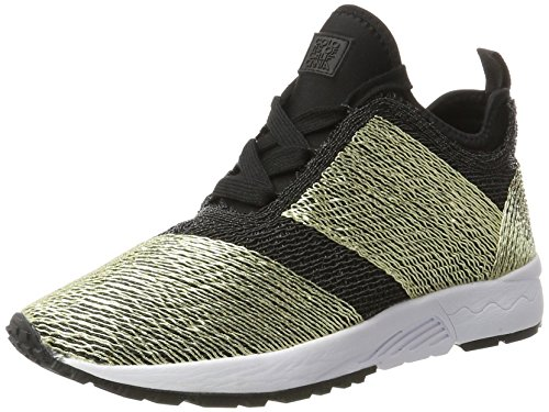 cheapest price Colours of California Women's Run46-f17 Hi-Top Trainers Gold (Black Bla) sale low price fee shipping LsGLV2y2