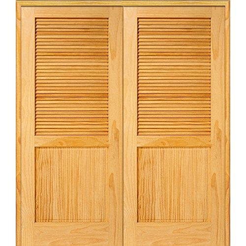 Pine Louver Doors - 6
