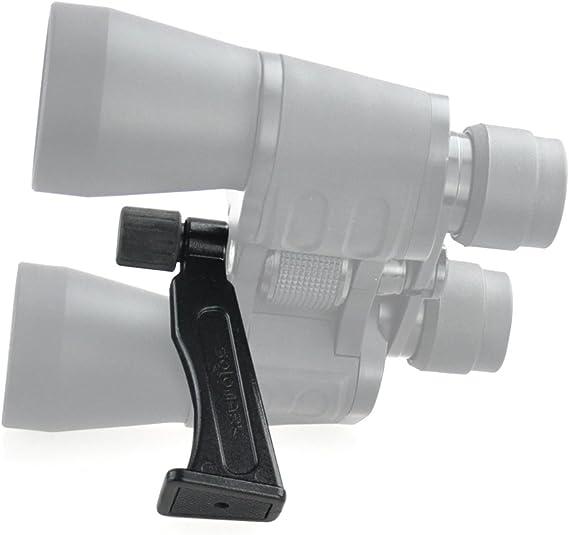 Agger Metalladapter L-f/örmiges Fernglas Stativadapter Befestigung Fernglas Halterung