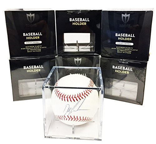 - Case of 36 Max Pro Baseball Ultra Clear Square Cube Holders with 98% UV Protection