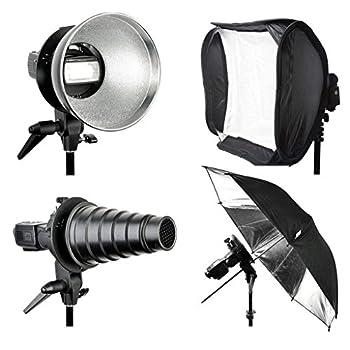 MagiDeal S Type Flash Bracket Bowens Mount for Godox V860II Softbox Diffuser Photography Umbrella Holder Adjustable Angle