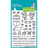 Lawn Fawn Holiday Helpers Clear Stamp Set (LF1767)