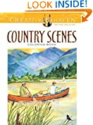 #5: Creative Haven Country Scenes Coloring Book (Adult Coloring)
