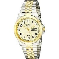 Citizen Gold Dial Expansion Band Men's Quatz Watch