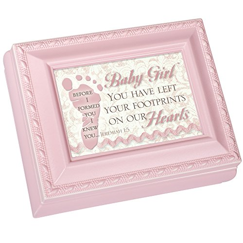 Cottage Garden Baby Girl Pink Petite Square Jewelry And K...