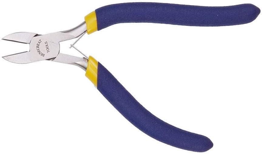 BENECREAT Alicates de Nariz Redonda de Precisi/ón para la Fabricacion de Joyer/ía Alicates de Precisi/ón Herramientas de Cortador