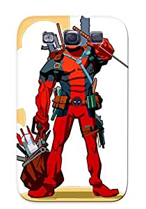 New Fashion Premium Tpu Case Cover For Galaxy S3 - Deadpool Case For New Year's Day's Gift