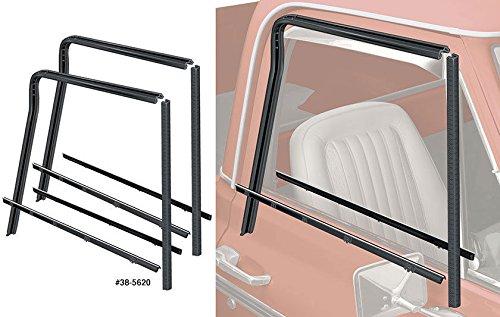 Precision Automotive 73-80 Chevy//GMC Truck Door Beltline Molding Glass Run Channel Window Seal Kit
