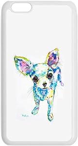 for Womon Rigid Plastic Phone Cases Design Chihuahua 6 Unusual Compatible On iPhone 6 Plus 6S Plus 5.5Inch Choose Design 128-2
