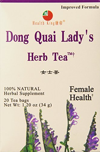 i Lady's Herb Tea, Teabags, 20 Count Box by Health King (Dong Quai Ladys Herb Tea)