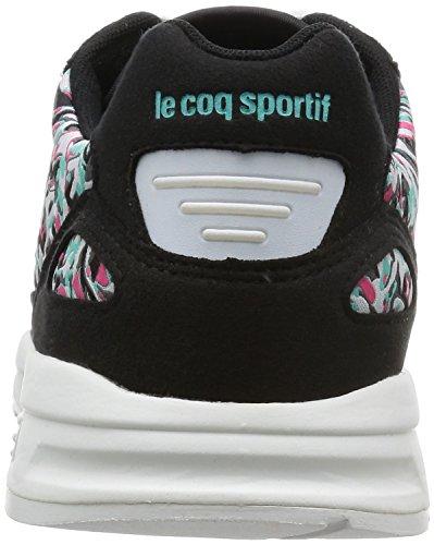 W Jacquard Le LCS Flower Baskets Coq Sportif Basses Femme R900 TTHIw