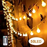 Feature Can be used indoors or outdoors with caution Wedding Decor, Garden Party, Around the cake table, String them along your fence, Christmas Tree Decorations. These beautiful string lights are perfect for decoration The lights add warmth ...