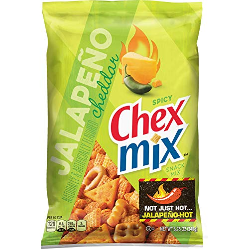 Chex Mix, Snack Mix, Jalapeno Cheddar, 8.75 oz. -