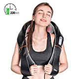 RENPHO Electric Shiatsu Neck and Back Massager with Heat, Deep Tissue 3D Kneading Massage Pillow for Pain Relief on Shoulder Leg Calf Foot Full Body Muscles - Cordless