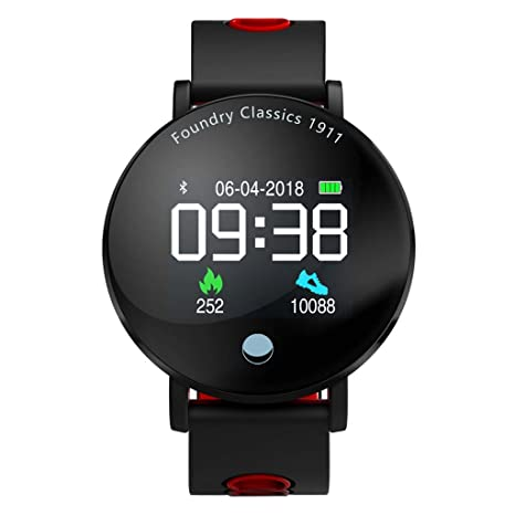 Cebbay Reloj Inteligente Bluetooth 4.0 presión Arterial corazón Monitor Reloj Deportivo Pulsera Inteligente Reloj electronico Reloj