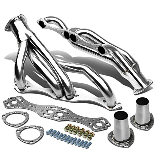 For 67-81 Chevy Small Block F-Body SBC 265-400 4-1 Design Stainless Steel Clipster Exhaust ()