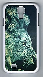 Samsung S4 Case Green Roar PC Custom Samsung S4 Case Cover White