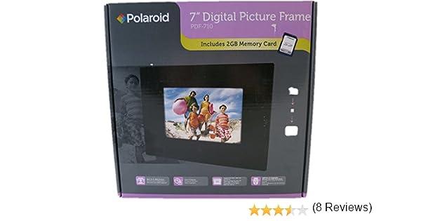 amazoncom polaroid 7 digital picture frame pdf 710 digital photo frame camera photo