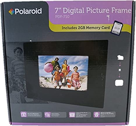 Amazoncom Polaroid 7 Digital Picture Frame Pdf 710 Digital