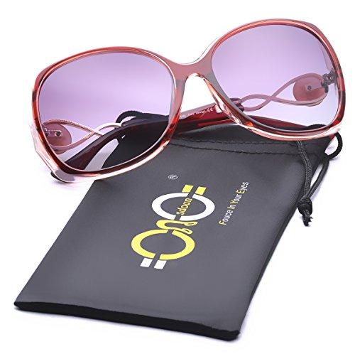 Women's Shades Luxury Oversized Polarized Sunglasses 100% UV Protection - Shades Luxury