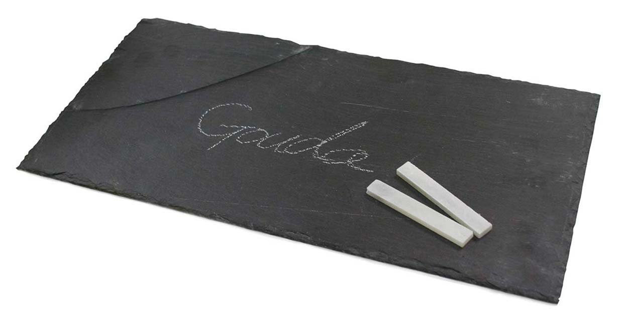 Twine 3707 11.75-Inch Slate Country Home Small Cheese Board, Gray