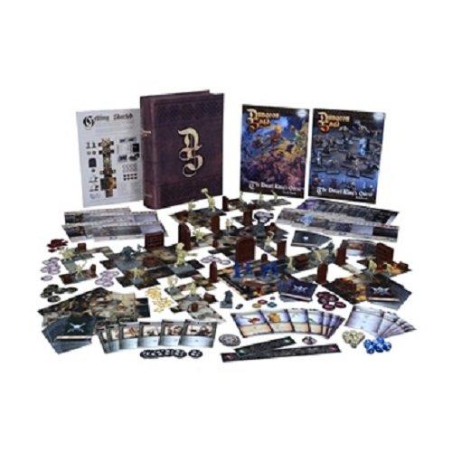 Mantic Jeux/-/Mgds01/-/Dungeon Saga le Nain Kings Quest/-/Fantasy 28/mm miniature Adventure Jeu de soci/ét/é de strat/égie version anglaise