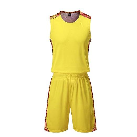 GJFENG Sportswear Ropa De Baloncesto con Cuello En V Chaleco ...