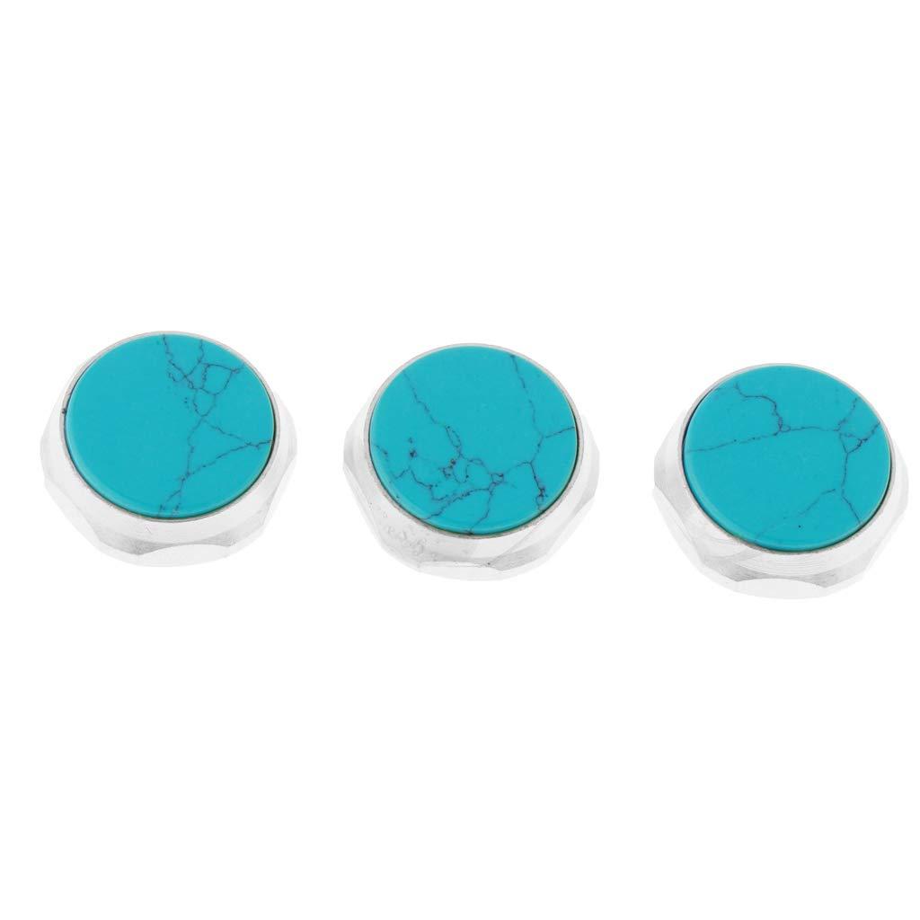 nero Shiwaki 3 Pezzi Bottoni a Tromba Tasti Tasti del Dito Set di Tromba Sostituzione Parti di Strumenti Musicali