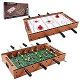 Giantex Multi Game Table Pool Hockey Foosball Table Tennis Billiard Combination Game Table (2 in 1)