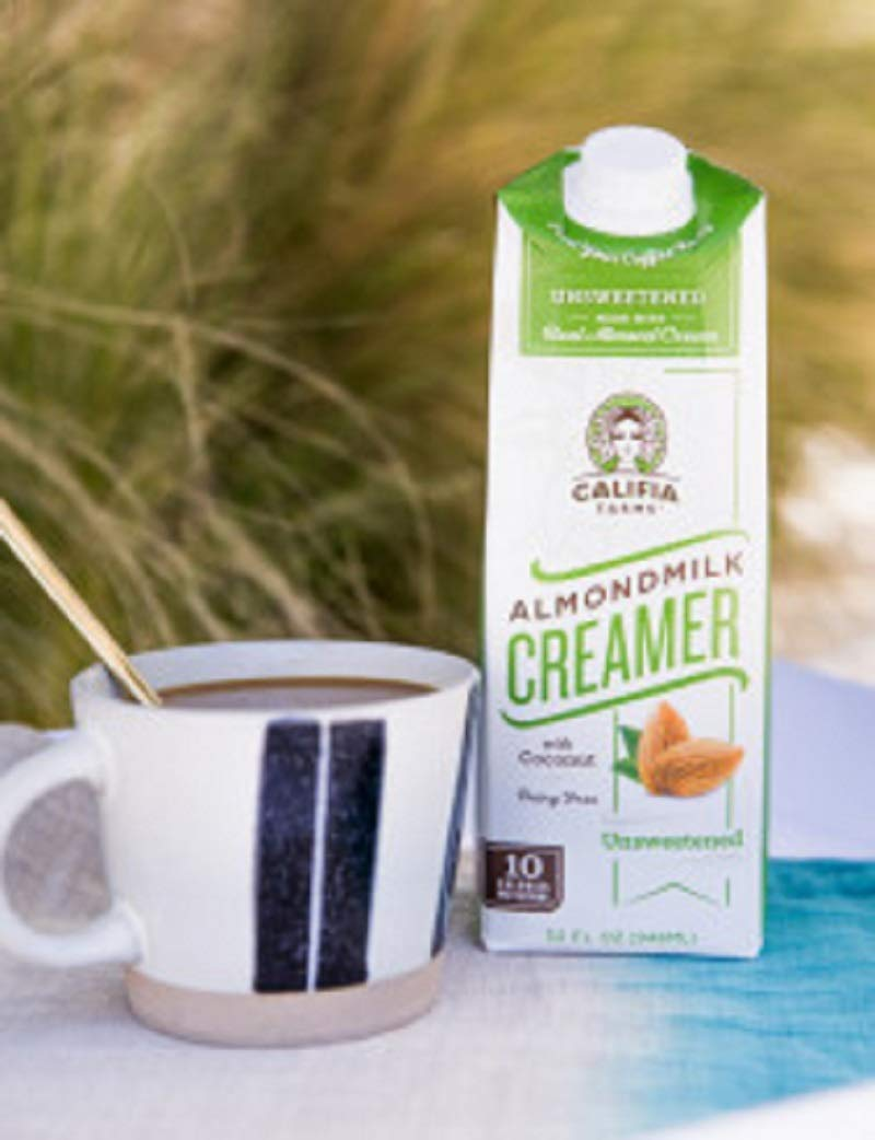 Califia Farms Mezcla Barista de leche de almendra, sin ...