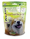 PetzLife Natural Dental Chews for Dogs, 8-Ounce, 14-Per Pack