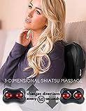 Zyllion Shiatsu Back and Neck Massager - Kneading