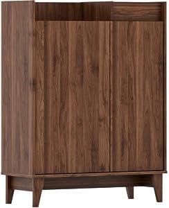 Shilpi Handmade Solid Wood Cabinet in Standard Size Multipurpose Cabinet/Wooden Shoe Rack