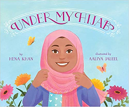 cover image, under my hijab