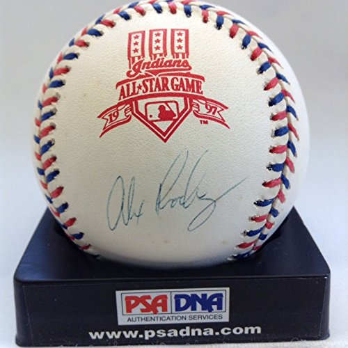 Alex Rodriguez Signed Autographed 1997 Official All Star Game Baseball PSA DNA