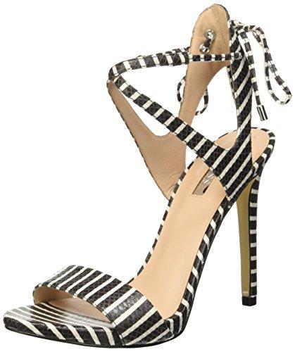 Guess - Zapatos de vestir para mujer Varios Colores Strisce Bianco Nero