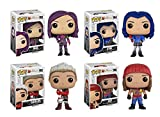 Funko Pop Disney: Descendants - Mal, Evie, Carlos, Jay Complete Set 4